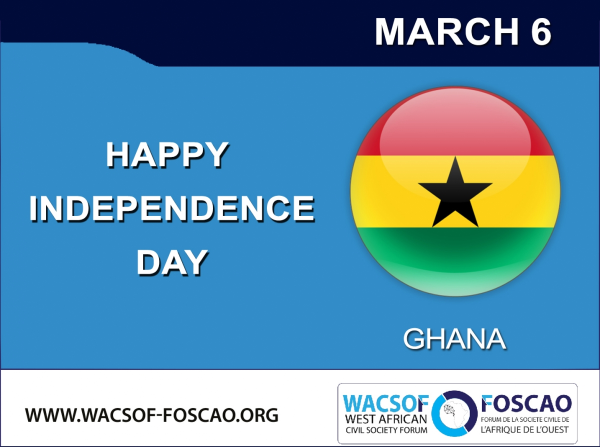 WACSOF CELEBRATES WITH GHANA ON COUNTRY'S INDEPENDENCE CELEBRATION